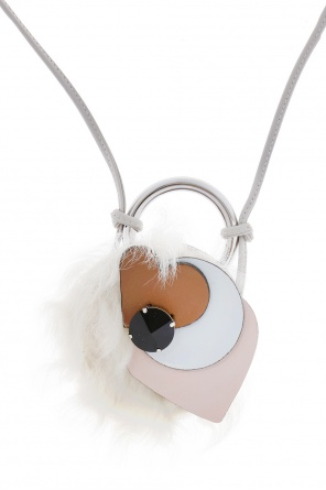 Necklace with fur charm od Marni