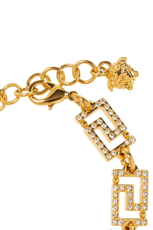 Versace Bracelet with Greek pattern