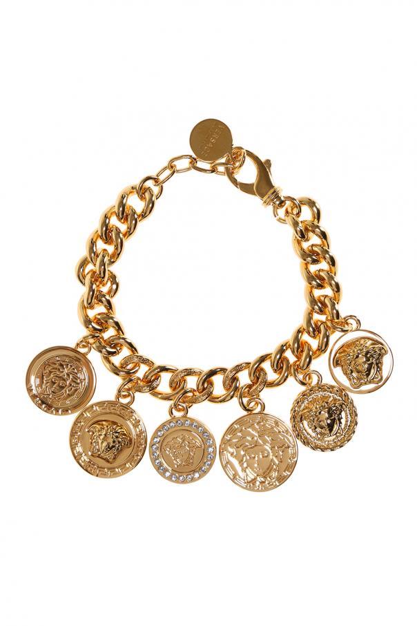 36e56cd76afe Multi charms bracelet Versace - Vitkac shop online