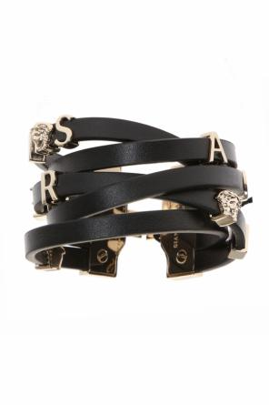 Leather bracelet od Versace