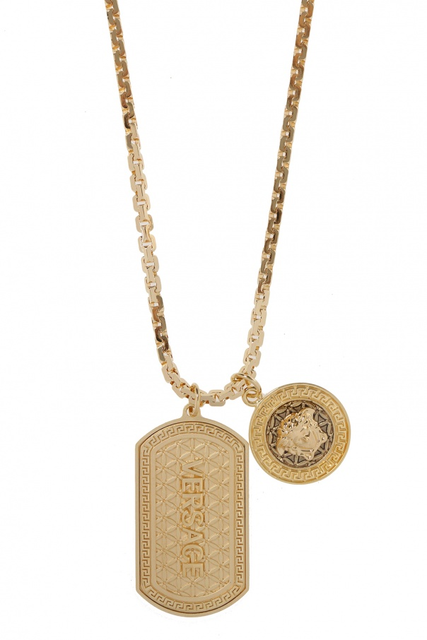 Versace Necklace with charms