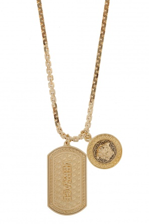 Necklace with charms od Versace