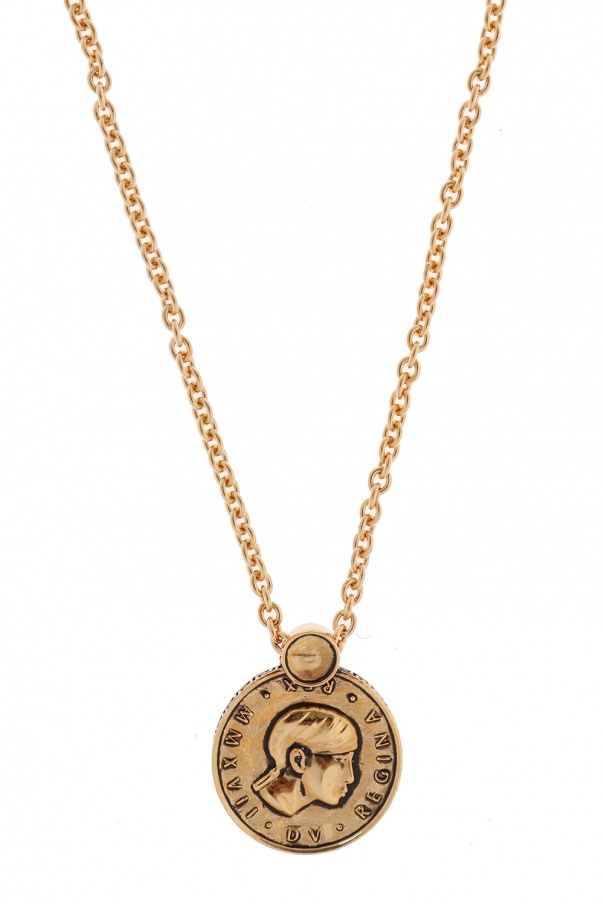 aa63a74f5765 Necklace with reversible charm Versace - Vitkac shop online