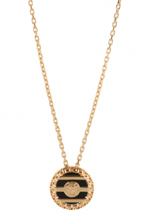 Necklace with round charm od Versace