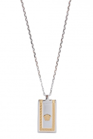 Necklace with moving charm od Versace