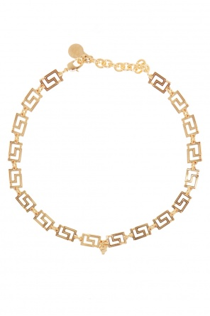 Greek key pattern necklace od Versace