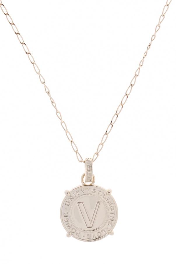 2da429b1391f Necklace with round charm Versace - Vitkac shop online