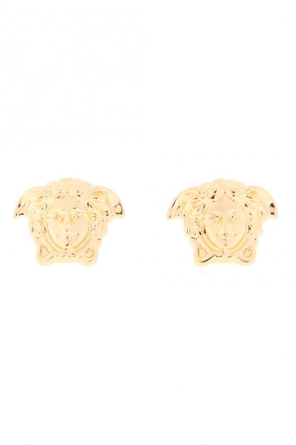 Versace Medusa head earrings