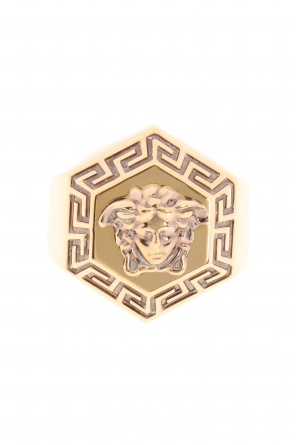 Medusa head ring od Versace