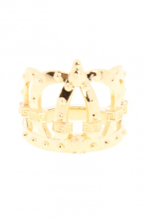 Crown motif ring od Versace