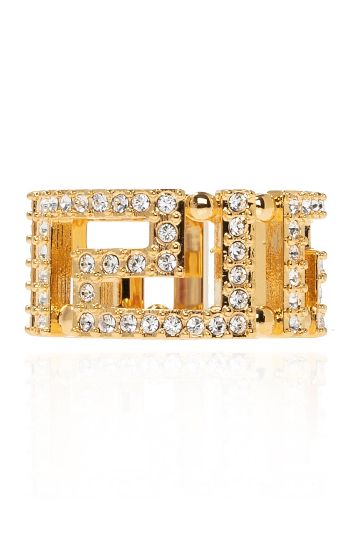 Versace Appliquéd ring