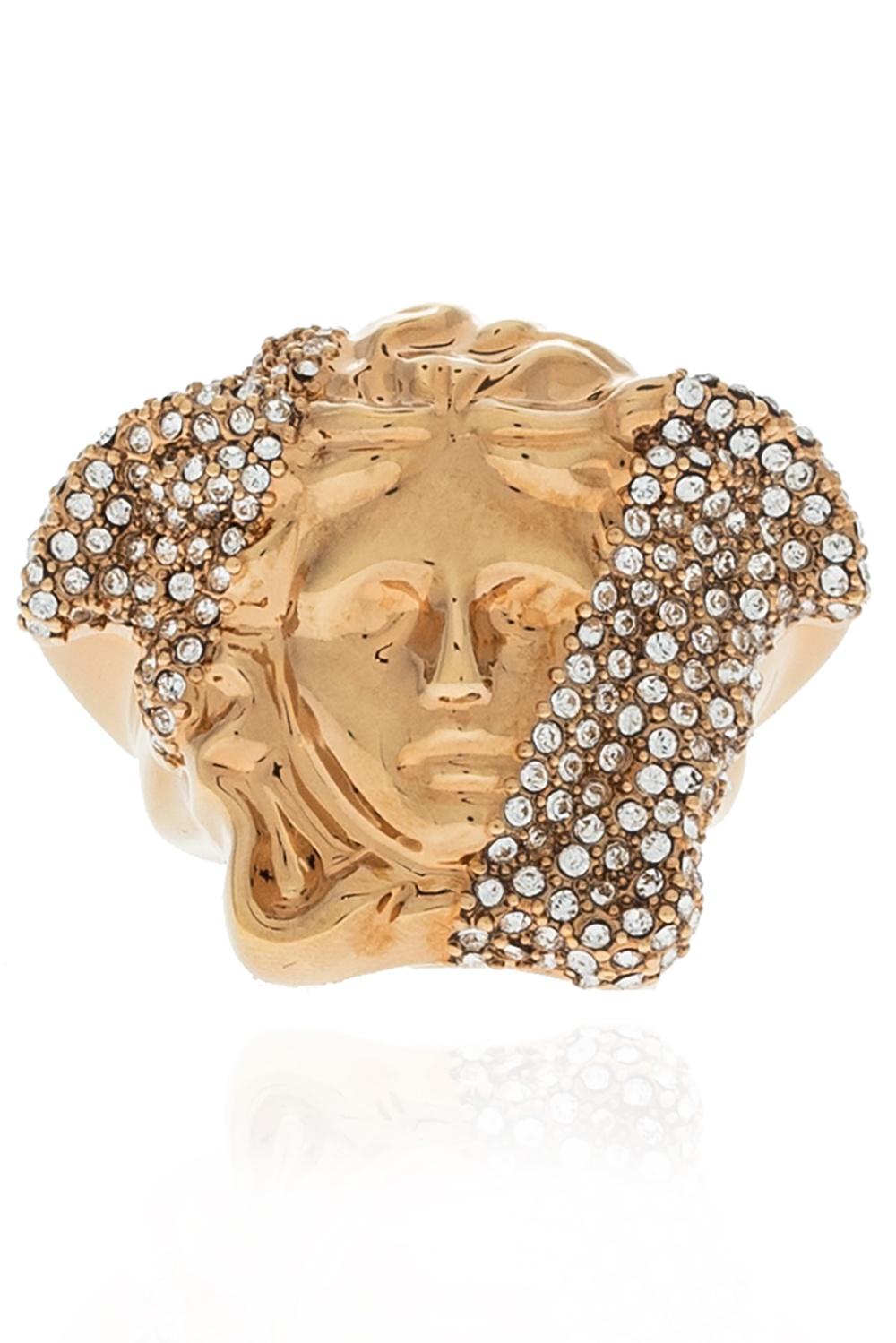 Versace Brass ring