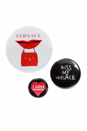 Set of 3 pins od Versace