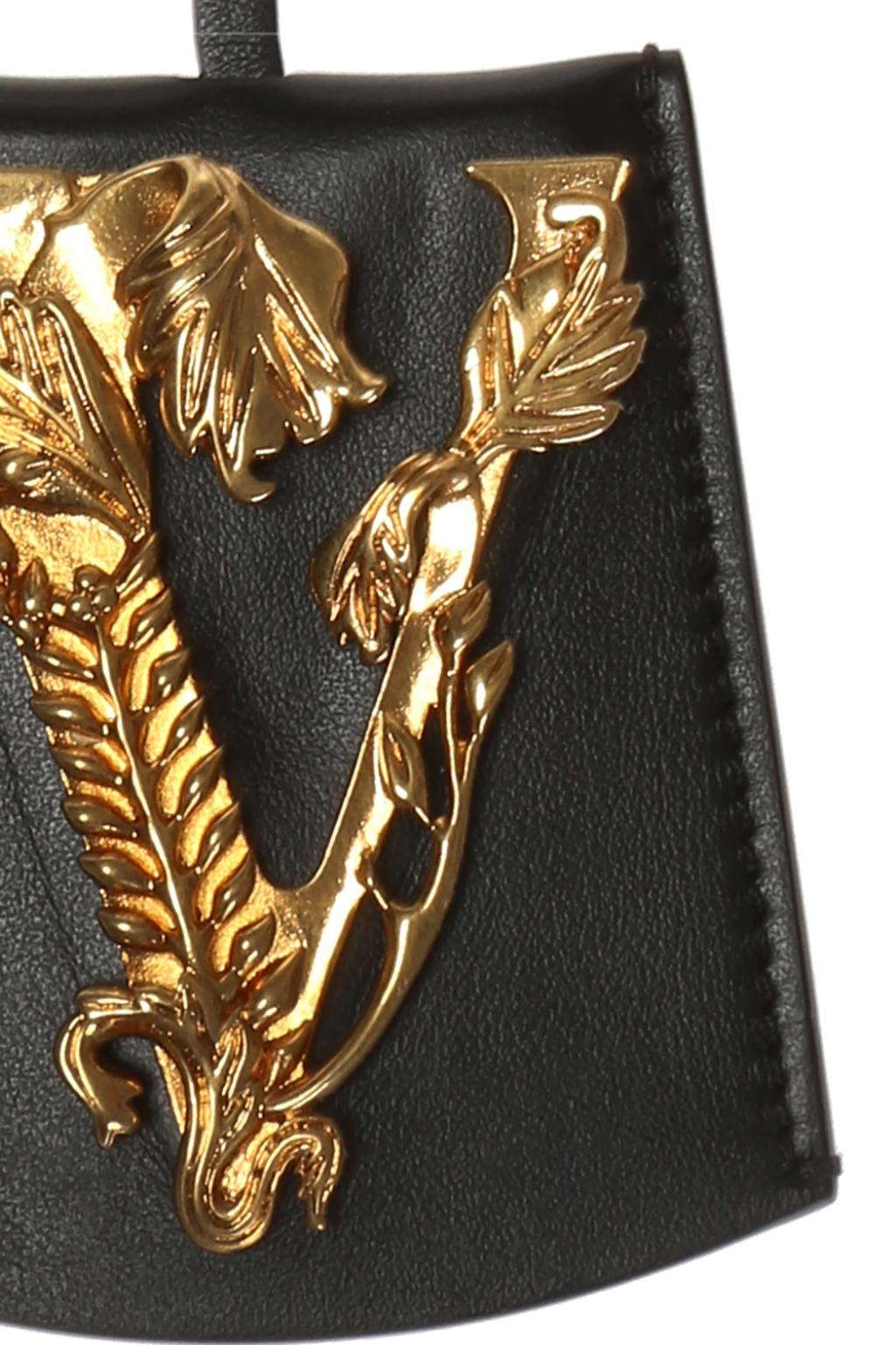Versace Leather key ring