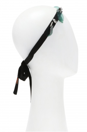Lacing detail head band od Marni