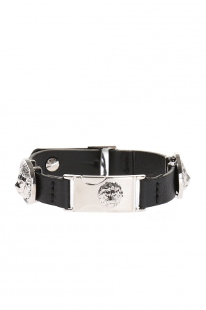 Leather bracelet od Versace Versus
