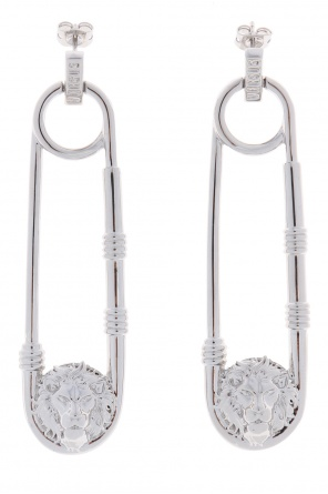 Safety-pin earrings od Versace Versus