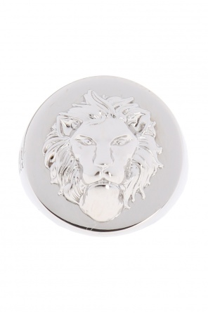 Lion head ring od Versace Versus