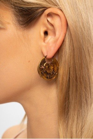 Appliquéd earrings od Acne Studios