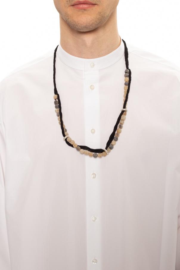 Embellished necklace od JIL SANDER