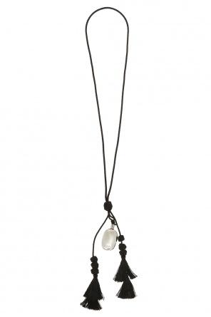 Necklace with charm od JIL SANDER