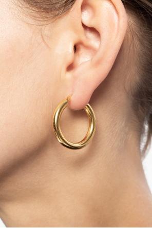 Round earrings od JIL SANDER