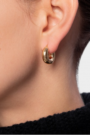 Round earrings od JIL SANDER