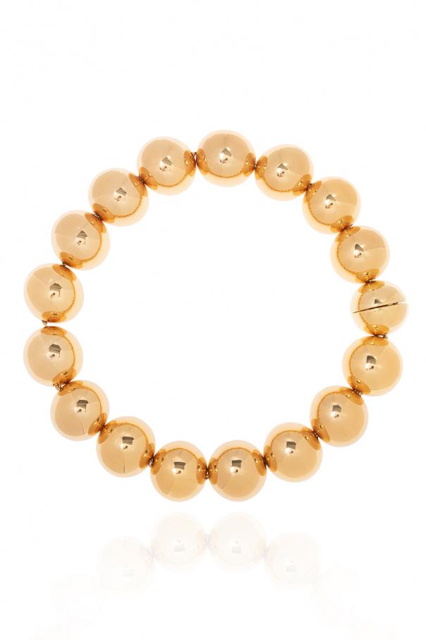 JIL SANDER Brass necklace