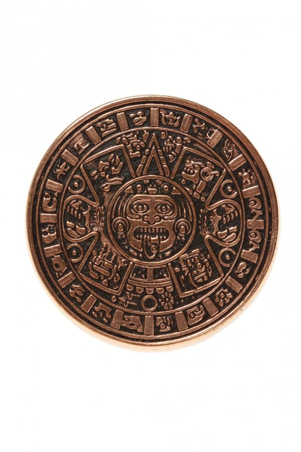 Midgard Paris 'Mayan Calendar' brass ring