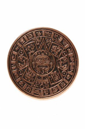 'mayan calendar' brass ring od Midgard Paris