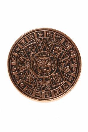 Mosiężny pierścień 'mayan calendar' od Midgard Paris