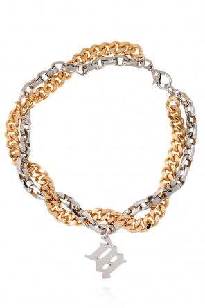 'm' monogram necklace od MISBHV