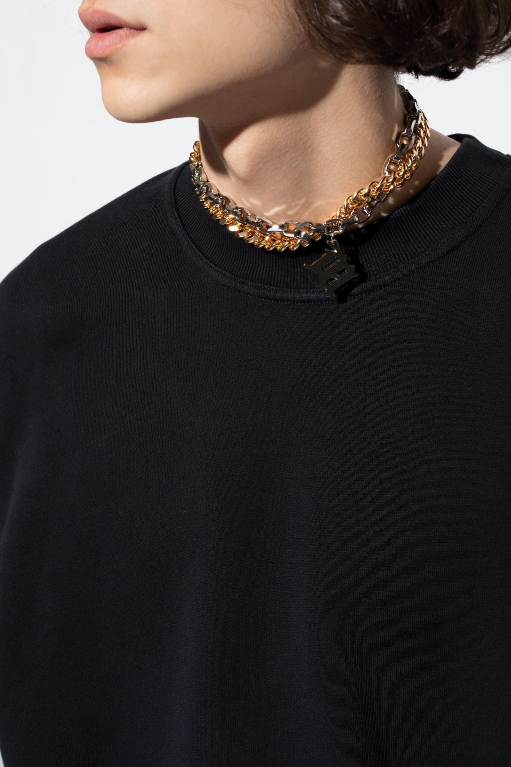 MISBHV 'M' monogram necklace