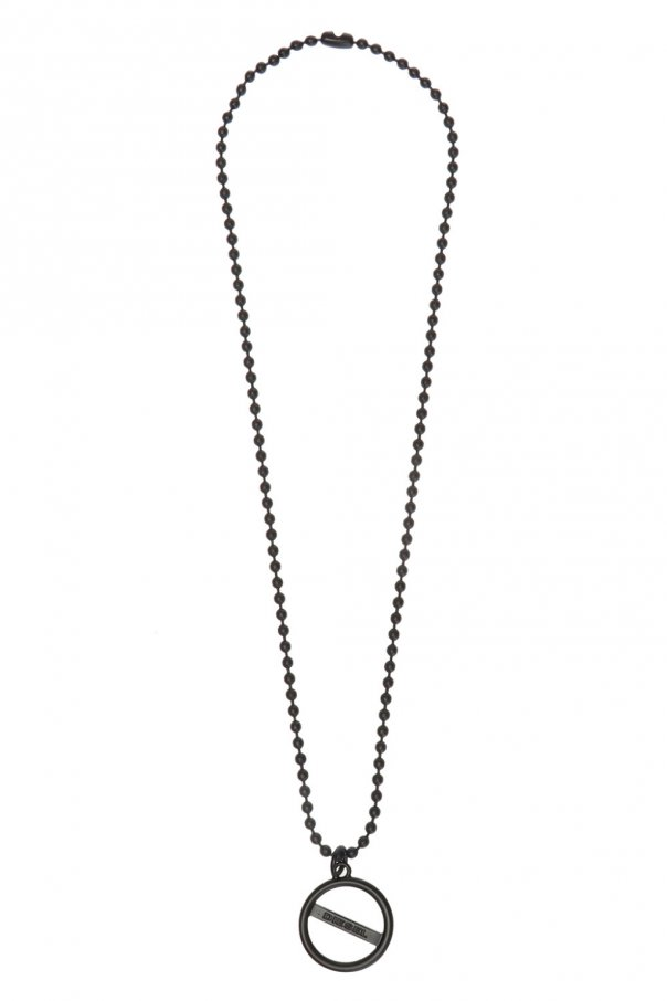 Necklace with charm od Diesel