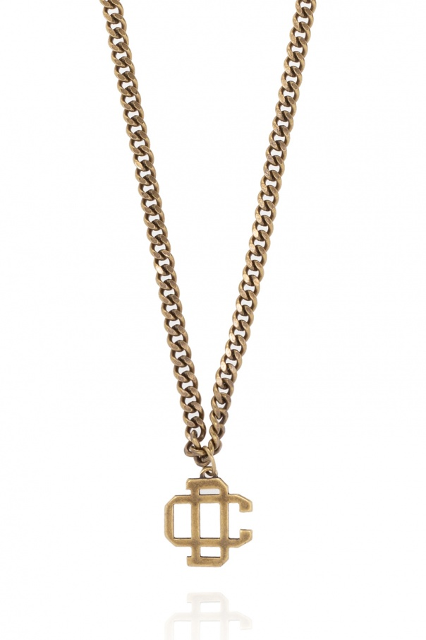 Dsquared2 Brass necklace