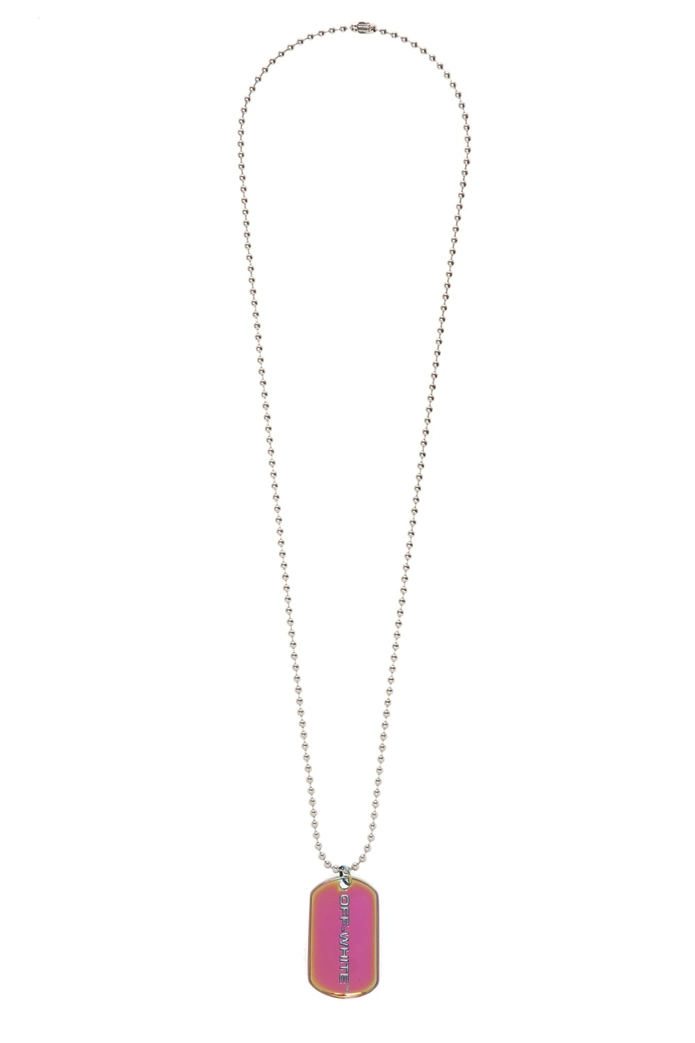 Off-White Necklace with charm