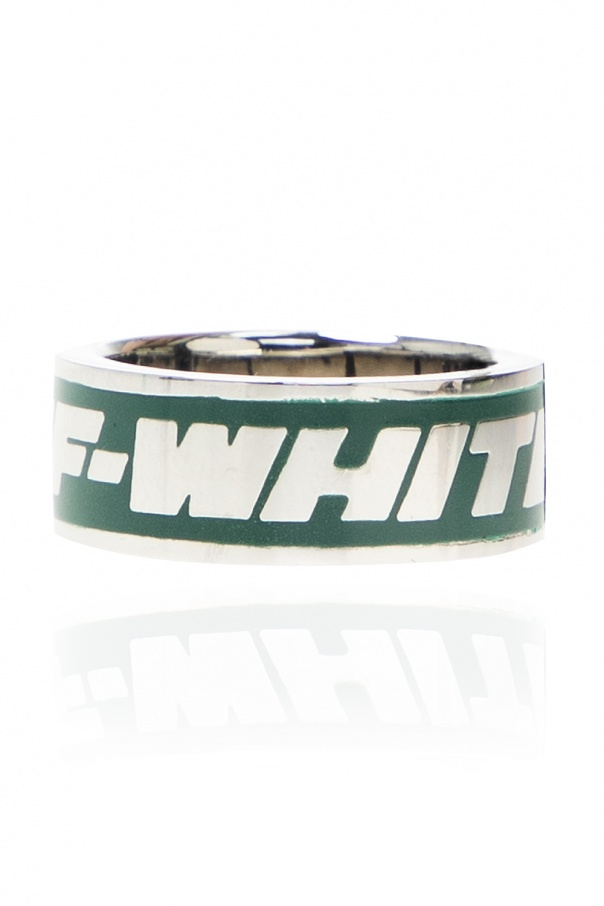 Off-White Ring with logo