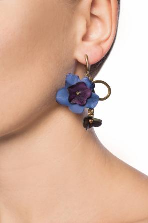 Earrings with leather accents od Marni