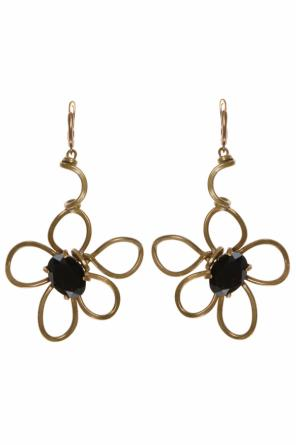 Flower-shaped earrings od Marni