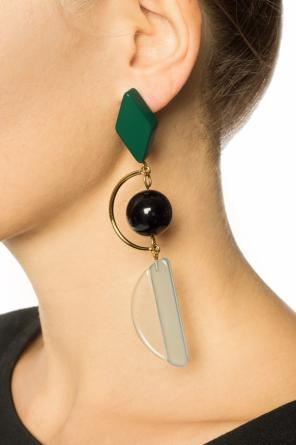 Embellished earrings od Marni
