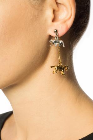 Earrings with animal charms od Marni