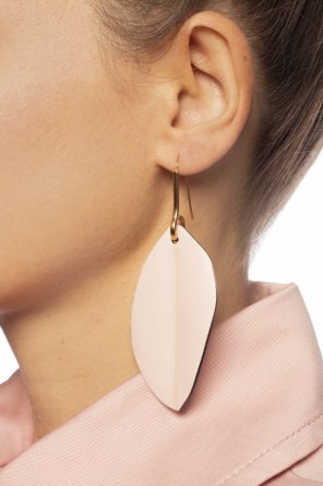 Earrings with leather appliques od Marni