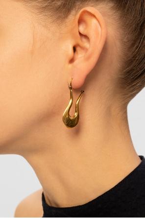 Earrings with logo od Marni