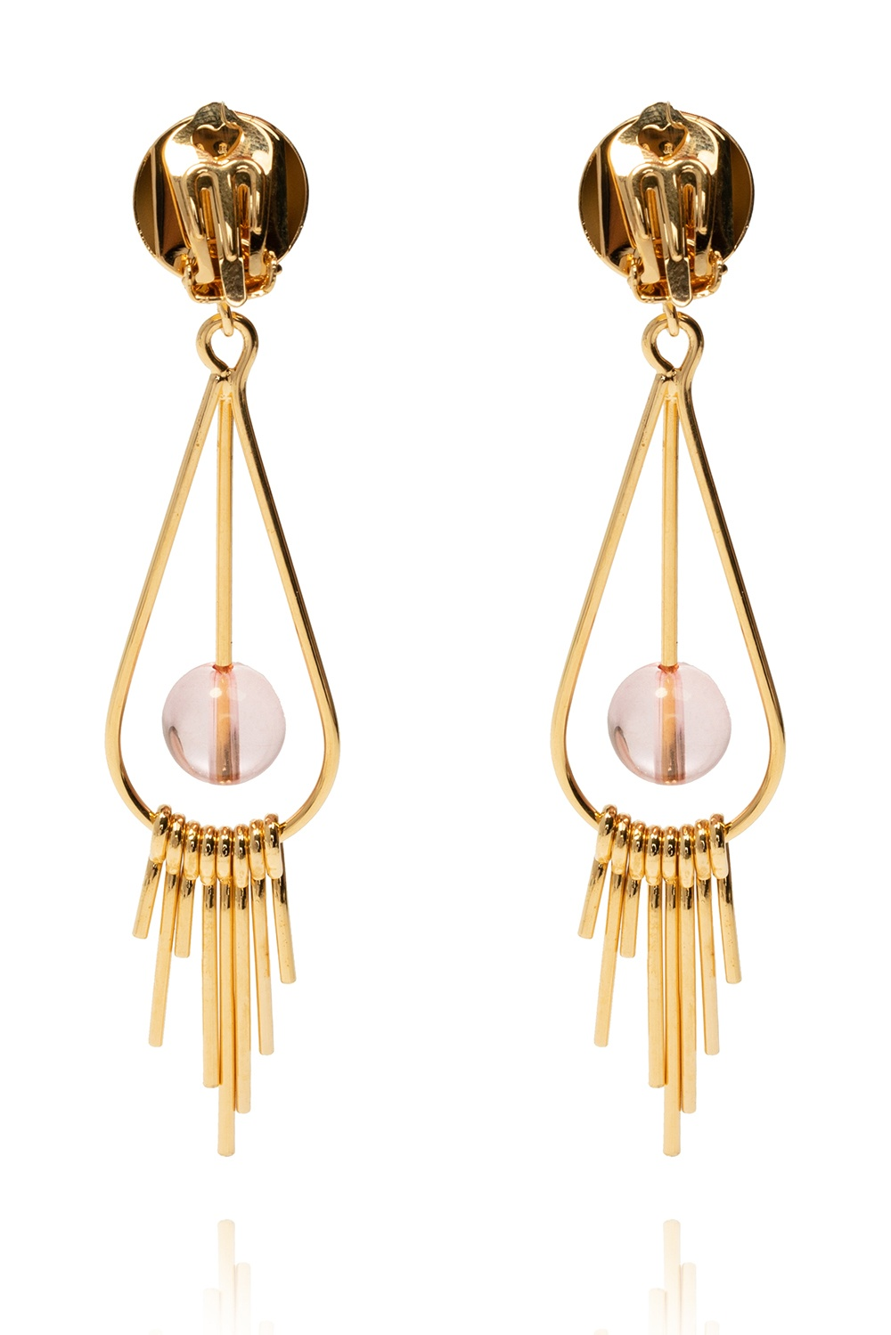 Marni Clip-on drop earrings