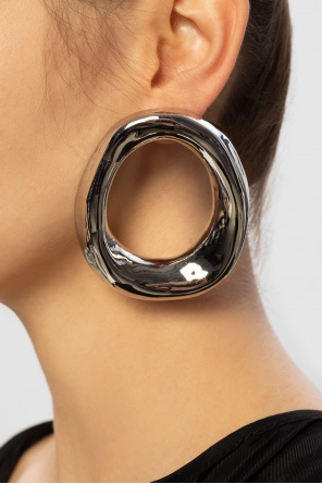 Brass earrings od Marni