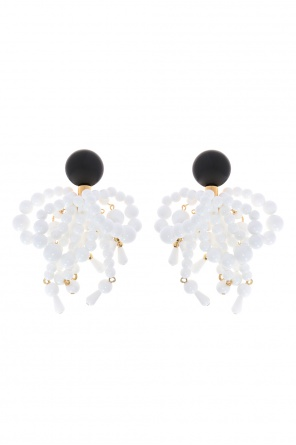Hanging clip-on earrings od Marni