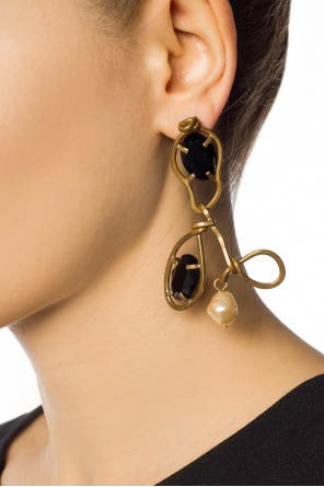 Single earring with stones od Marni