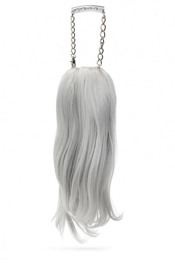 Comme des Garcons Homme Plus Wig necklace