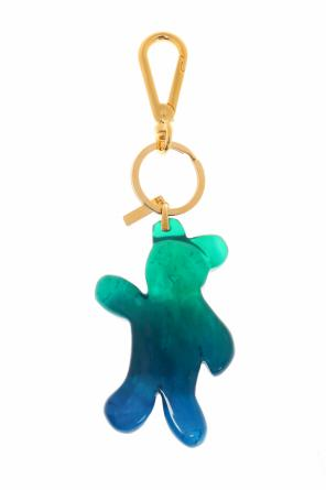 Teddy bear key ring od Marni