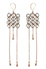 Midgard Paris 'Pulsar' brass earrings